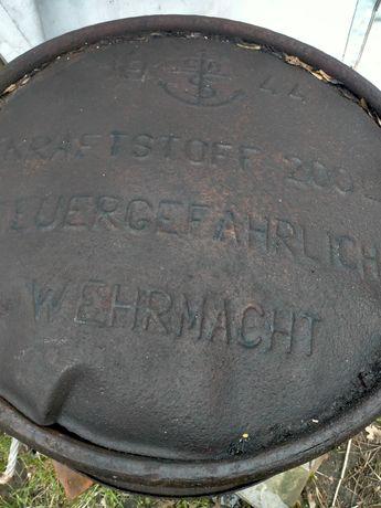 Niemiecka Beczka na paliwo z 1944 roku