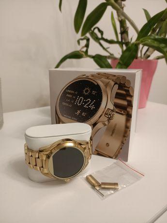 Smartwatch zegarek Michael Kors złoty