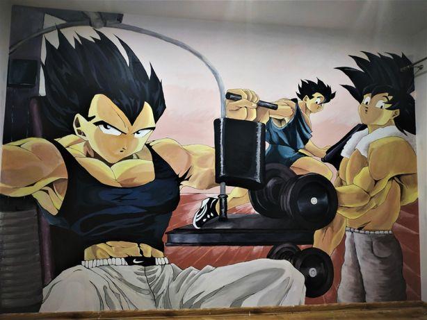 Malowanie Artystyczne,Mural,Graffiti,Obrazy,Portrety