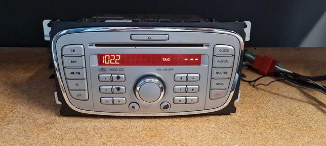Ford 6000 Mondeo Focus Galaxy MK3 Radio Cd Aux + kod