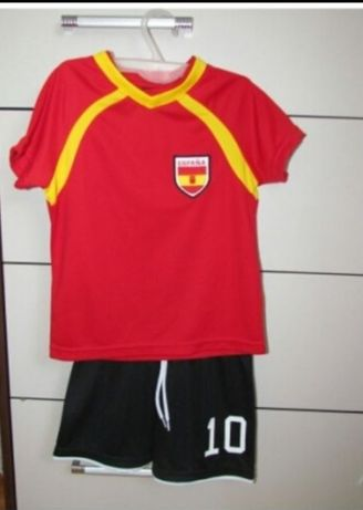 Strój piłkarski H&m rozm.92 - koszulka +spodenki