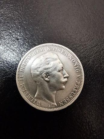 3 марки 1910 года, Кайзер Вильгельм II, Германская империя