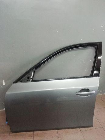 Drzwi Lewe Przód Przednie BMW 5 E60 Sedan Malowania Kolor Spacegrau