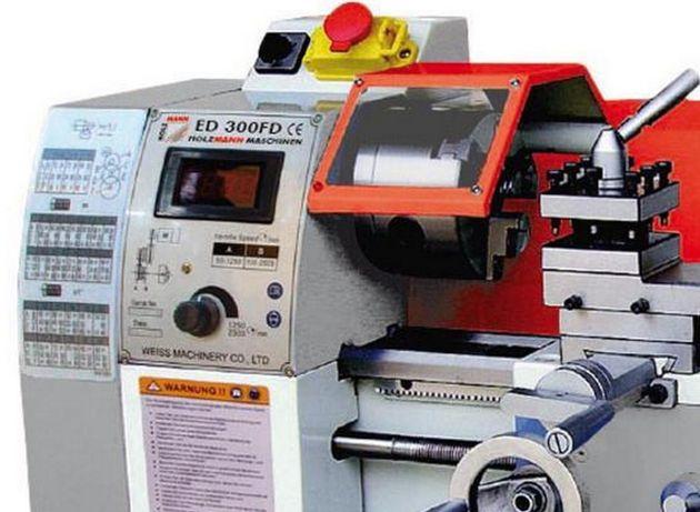 Torno mecânico HOLZMANN ED 300FD 300 mm entre pontos