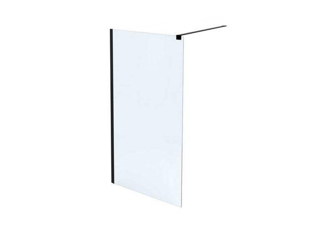 Ścianka prysznicowa WALK IN FIX black 80cm MASSI kabina prysznicowa