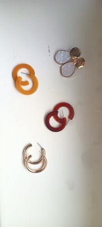 Серьги на выбор, кольца и объемные