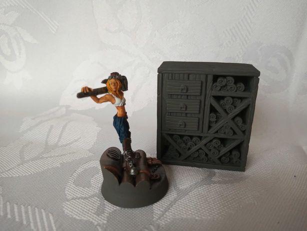 Regał Biblioteka szafa makieta wh fantasy teren do gry bitewne LOTR