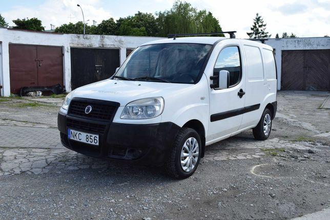 Fiat doblo cargo 1,6 benzyna 103 KM, klima, elektryka, mały przebieg
