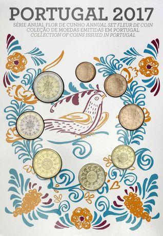 Португалия 2017. Официальный годовой набор монет