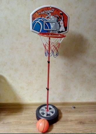 Продам баскетбольное кольцо на стойке
