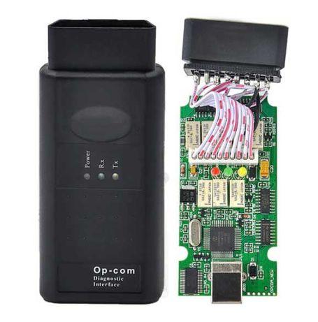 OP COM v1.95 2021 чип PIC18F458 опком op-com opel опель автосканер