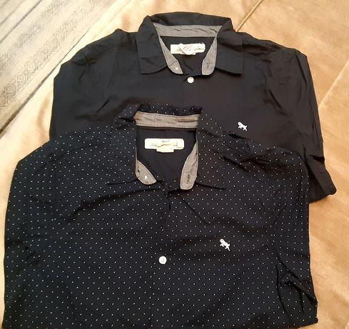H&M.Продам 2  рубашки на рост 140 см. Б/у.