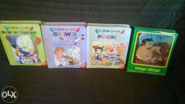 Książki-puzzle dla dzieci