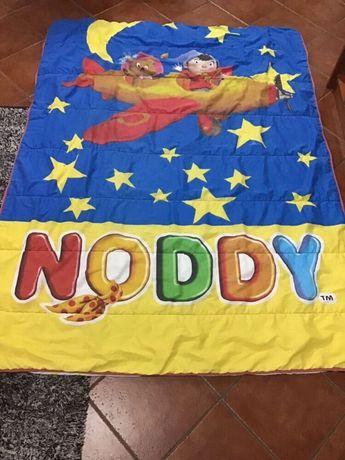 2 EDREDONS Edredões coberta cobertor NODDY para cama solteiro criança