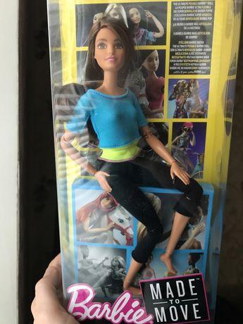 Кукла Барби Made to move