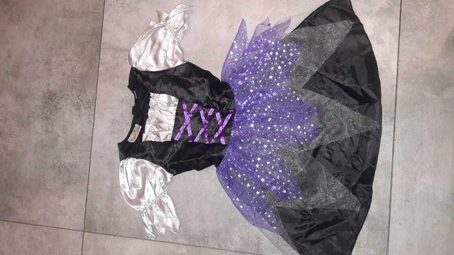 Nowa sukienka Halloween lub karnawał 4-5 lat