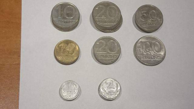 Monety lata 90 polskie