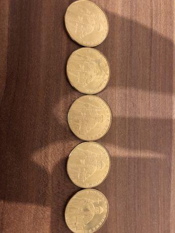 Монета 1 гривня Володимир Великий з ролів
