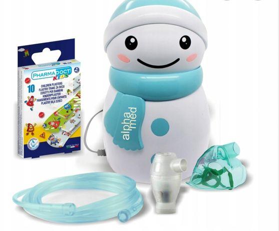 Inhalator nebulizator bałwanek pulmi dla dzieci