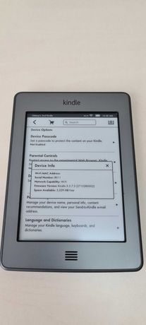 Kindle Touch WiFi B011