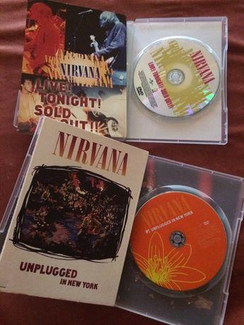 DVDдиски Нірвана