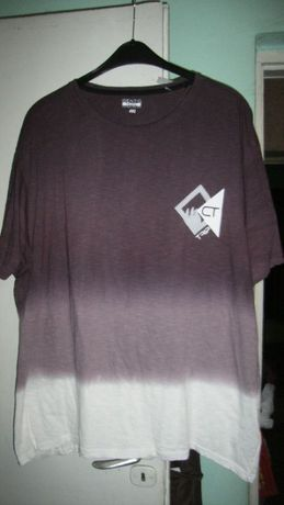 duża nowa koszulka cieniowana roz.3XL -w klatce 136cm