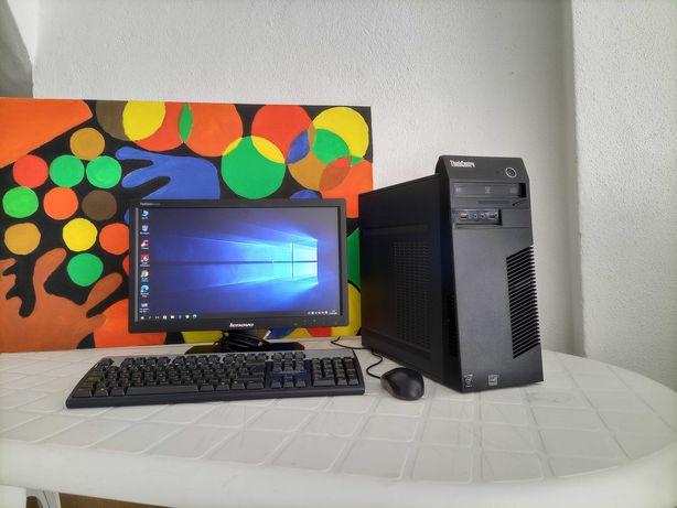 PC  Lenovo Completo+Monitor/Intel Core i3- 4160 4ª Ger/
