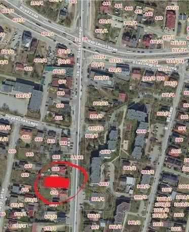 Wynajmę działkę Kielce, Ściegiennego obok Barwinka