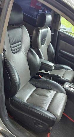 Салон Recaro Audi A6 C5 кожа сидения