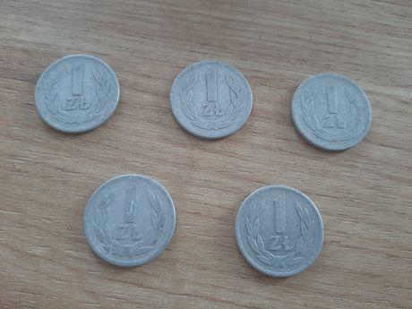 Monety 1 zł 1966