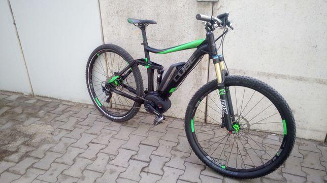 rower elektryczny cube stereo /120-120/bosch /xt/fox/dt swiss/okazja