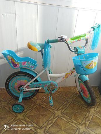 "Велосипед Рапунцель 14"""