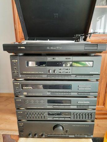 Wieza Diora 504 502 i gramofon Gs 475 jak nowa plomby