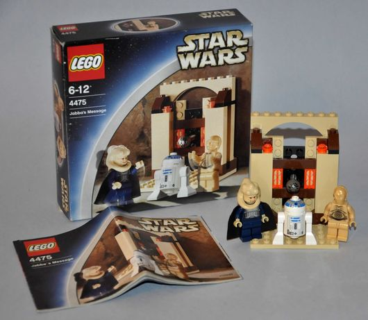 Lego Star Wars 4475 Bib Fortuna Jabba