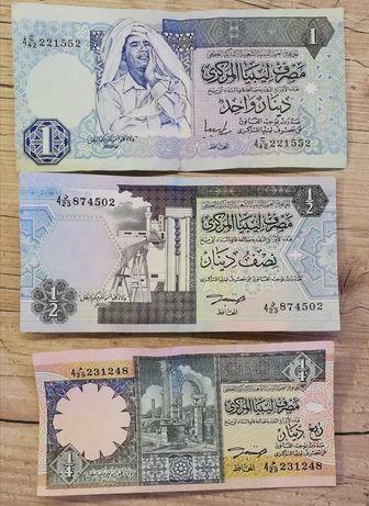 1, 1/2 i 1/4 dinar Libia