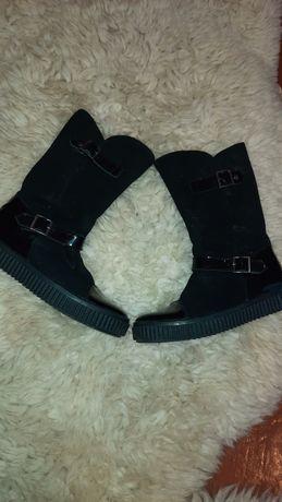 Шкіряні чобітки Bartek (Польща) для дівчинки, розмір 36