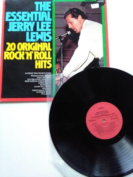 Jerry Lee Lewis – The Essential Jerry Lee Lewis - 20 Original Rock'n'