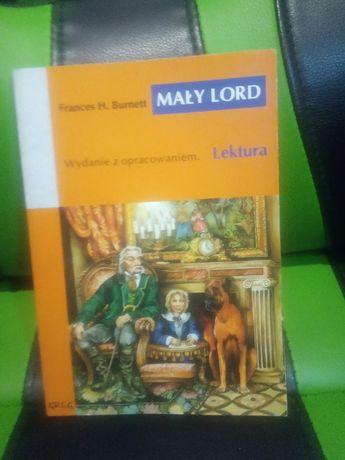 Książka mały lord lektura hit Tanio okazja Prezent na Wielkanoc