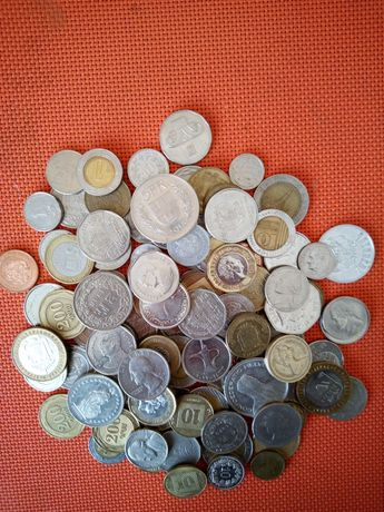 105 монет разных стран.Состояние отличное.Подробности в смс или по тел
