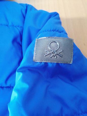 Blusão Azul  Benetton 13 a 14anos