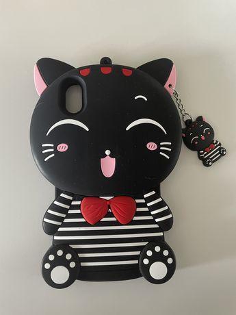 etui kotek iPhone Xr ( jak nowe )