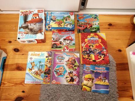Puzzle, książki dla chłopca