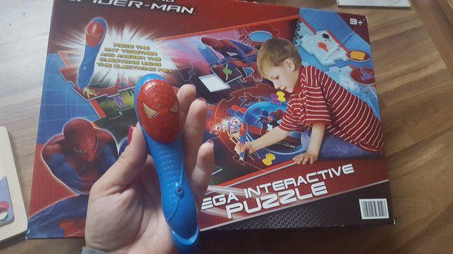 Gra puzzle spider man edukacyjna