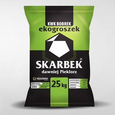 Ekogroszek Skarbek KWK BOBREK 28 MJ oryginalnie pakowany na kopalni