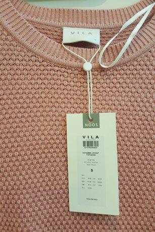 Różowy sweter rozmiar S nowy z metką