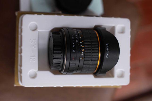 Samyang FISH_EYE Canon 8mm F3.5.