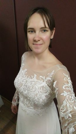 Suknia ślubna elegancka niska cena