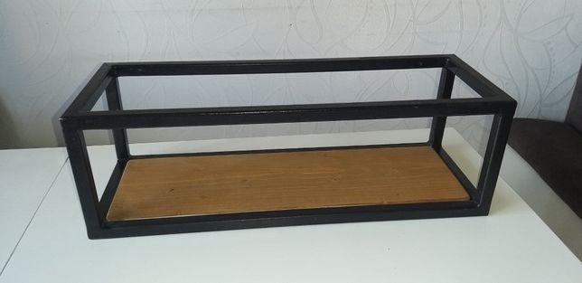 Półka wisząca, Loft, Handmade