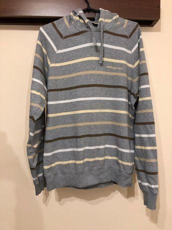 Bluza Henri Lloyd S M vintage paski retro unikat śliczna hoodie poszuk