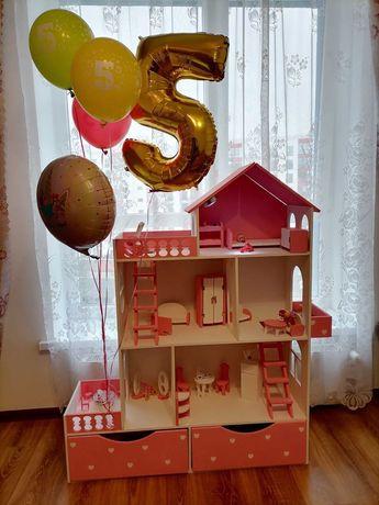 Кукольный особняк. Дом для Барби. Ляльковий будиночок.